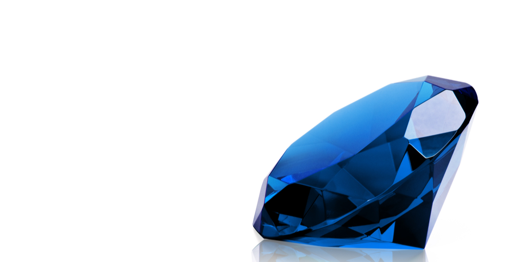 Large blue diamond